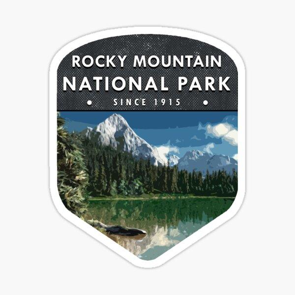 Rocky Mountain National Park 2 Colorado Sticker