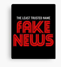 Fake News 2 Canvas Print