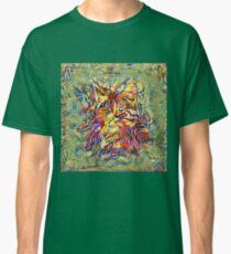 Ninja Cat. Deep Neural Networks #Art Classic T-Shirt