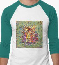 Ninja Cat. Deep Neural Networks #Art Baseball ¾ Sleeve T-Shirt