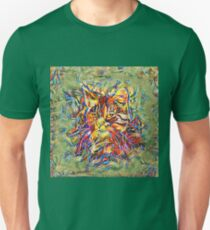 Ninja Cat. Deep Neural Networks #Art Slim Fit T-Shirt