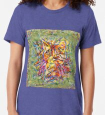 Ninja Cat. Deep Neural Networks #Art Tri-blend T-Shirt