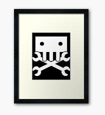Robot Crossbones-3 Framed Print