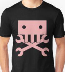Robot Crossbones-4 Unisex T-Shirt