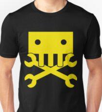 Robot Crossbones Unisex T-Shirt