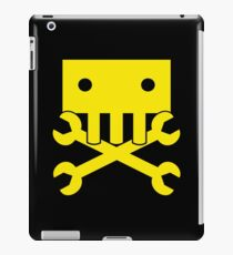 Robot Crossbones iPad Case/Skin