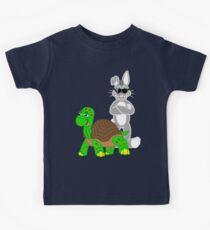 Tortoise And The Hare! Kids Clothes
