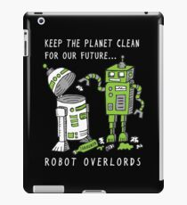 Robot Earth iPad Case/Skin
