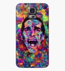 Colorful American Psycho Patrick Bateman Acrylic Painting Case/Skin for Samsung Galaxy