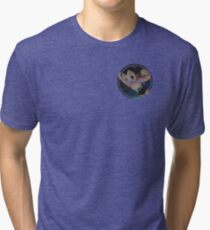 Astro boy Hoodoo badge Tri-blend T-Shirt