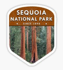 Sequoia National Park 2 Sticker