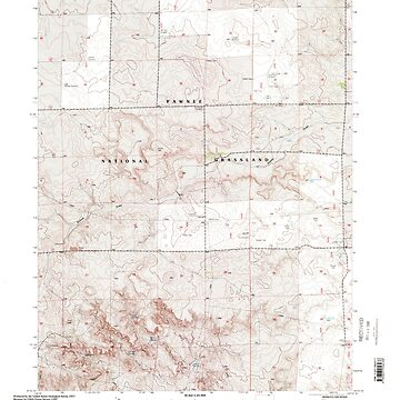 USGS TOPO Map Colorado CO Dolan Spring 232838 1997 24000 by wetdryvac