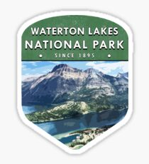 Waterton Lakes National Park 2 Sticker