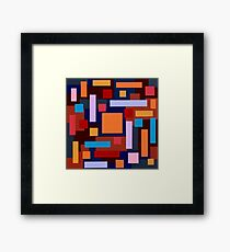 Mesmerize Orange Mandarin Framed Print