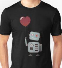 Robot In Love Unisex T-Shirt