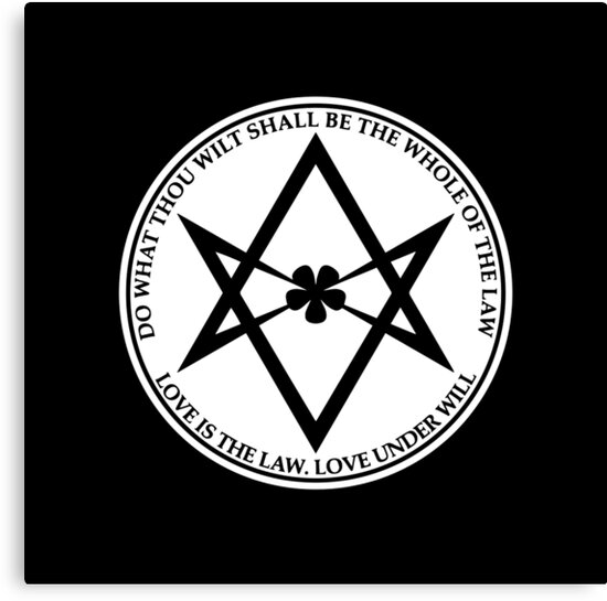 Aleister Crowley Do What Thou Wilt Shall Be The Whole Of The Law