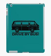 Drive By Bus    Black iPad Case/Skin