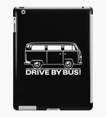 Drive By Bus    White iPad Case/Skin