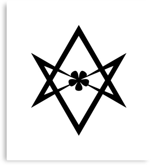 Aleister Crowley Magick Symbol Golden Dawn Occult Thelema