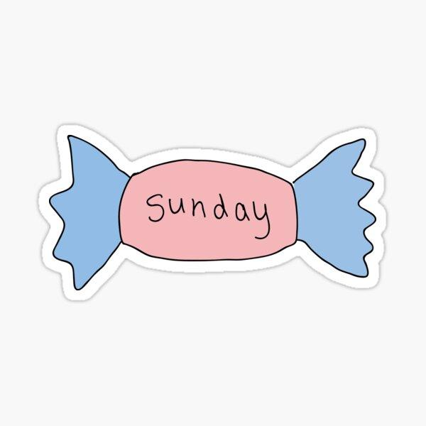 Sunday Candy Sticker