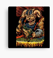 judgment of the devil Canvas Print