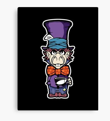Tea Time With The Hatter Ha Canvas Print