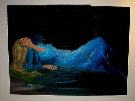 Lady in Blue by lorna
