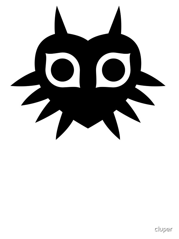 Quot Majora S Mask Silhouette Quot Stickers By Cluper Redbubble