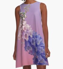 Flume flower artwork A-Line Dress