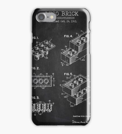 Lego Brick Chalkboard iPhone Case/Skin
