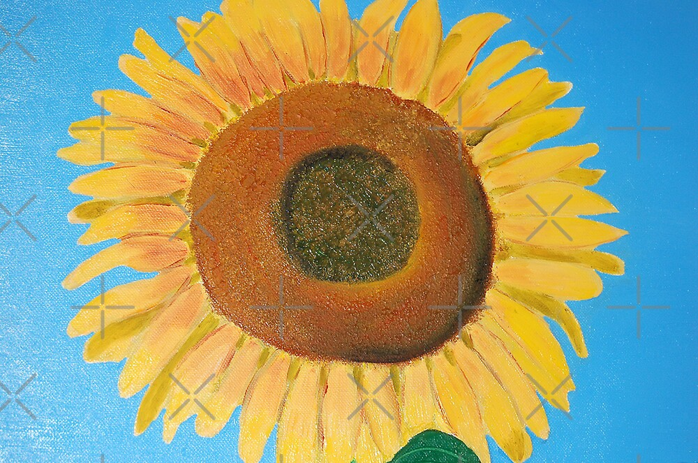 a sunflower by monica palermo