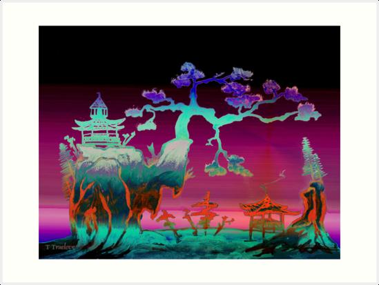 Violet sky light by TTruelove