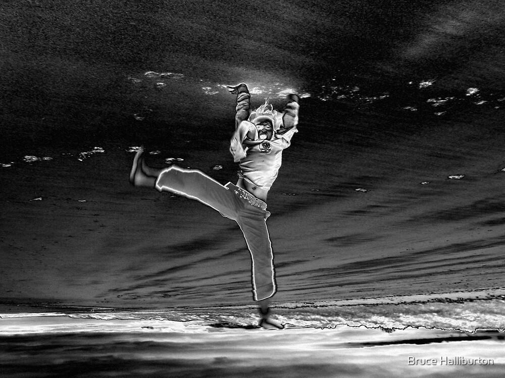 Falling Through Time by Bruce Halliburton