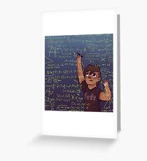 Romy + Math Greeting Card