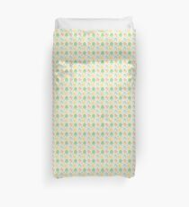 poke animals on a repeating pattern Duvet Cover
