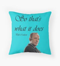 Phil Coulson Throw Pillow