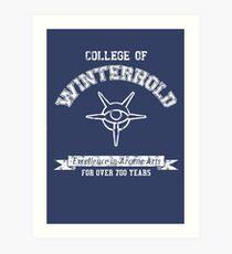 College of Winterhold Art Print