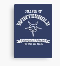 College of Winterhold Canvas Print