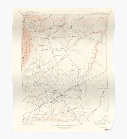 USGS TOPO Map Colorado CO Walsenburg 402391 1897 125000 Poster