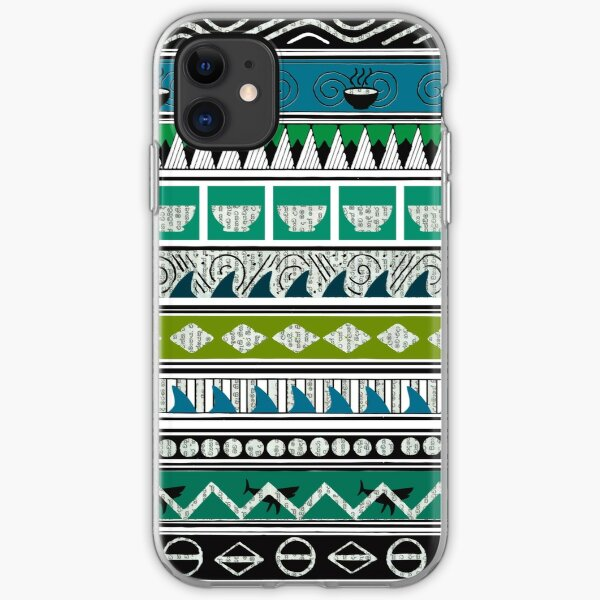 Ocean pattern1 iPhone Soft Case
