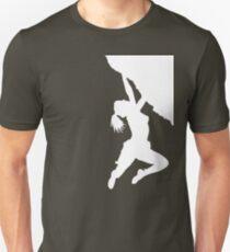 girl bouldering Unisex T-Shirt