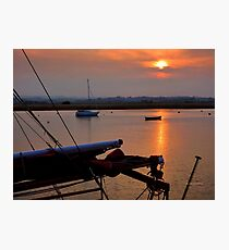 Topsham Evening Photographic Print