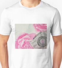 Camera roses Unisex T-Shirt