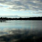 BLEAK WEATHER OVER LAKE MACQUARIE by Eric Kyle