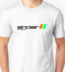 Sinclair ZX Spectrum 80s Logo T-Shirt