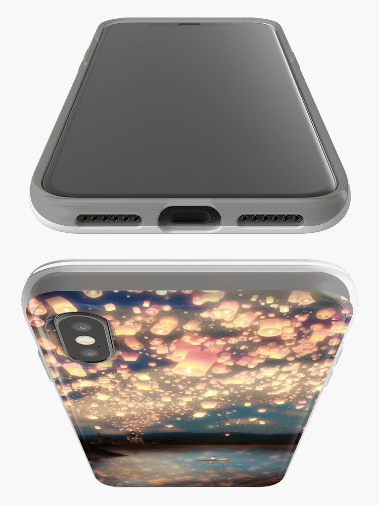 Alternate view of Wish Lanterns for Love iPhone Cases & Covers