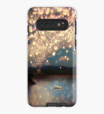 Wünsche Laternen für die Liebe Hülle & Klebefolie für Samsung Galaxy