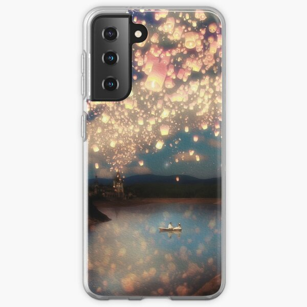 Wish Lanterns for Love Samsung Galaxy Soft Case