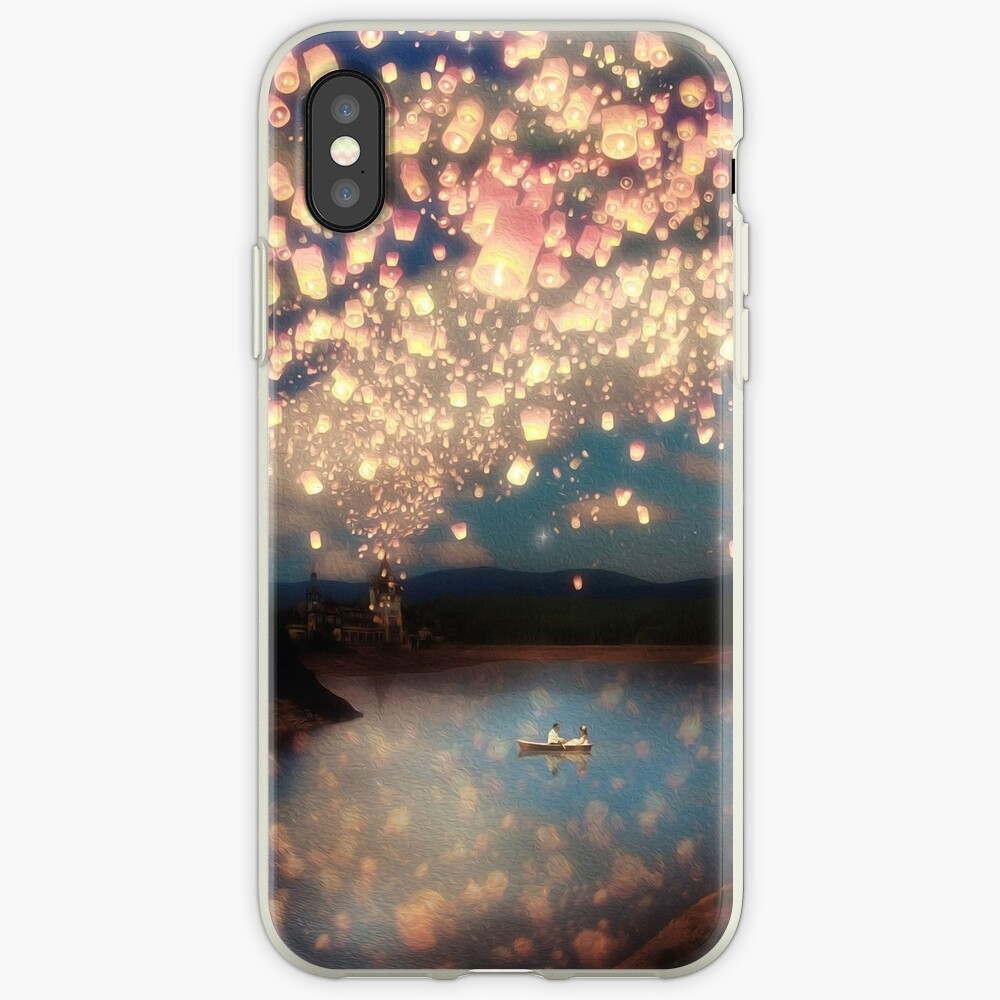 Wish Lanterns for Love iPhone Cases & Covers