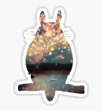 Wish Lanterns for Love Sticker